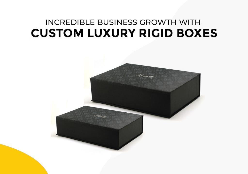 Custom Luxury Rigid Boxes