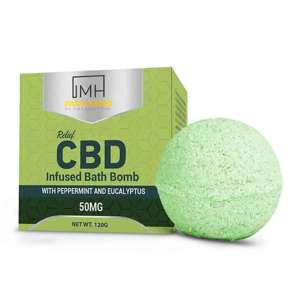 CBD Bath Bomb Boxes UK