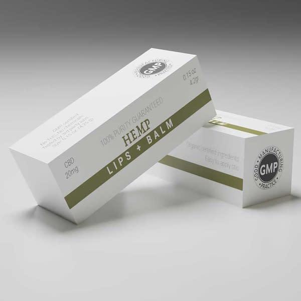 CBD Lip Balm Boxes UK