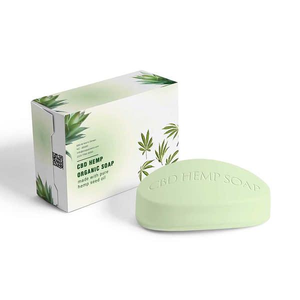 CBD Hemp Soap Boxes UK